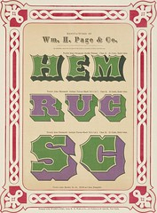"""Image from page 44 of """"Specimens of chromatic wood type, borders, etc. manufactured by Wm. H. Page & Co."""" (1874)"""