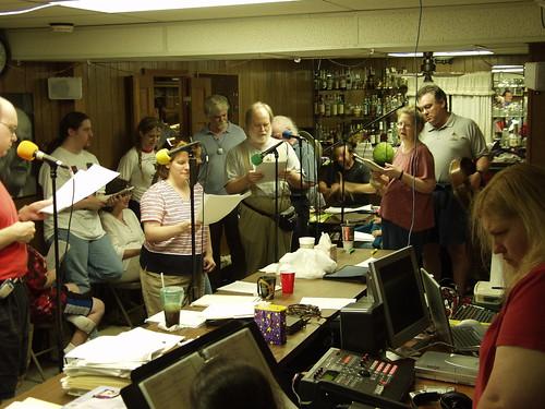 ARTC rehearsing for Dragon Con 2003
