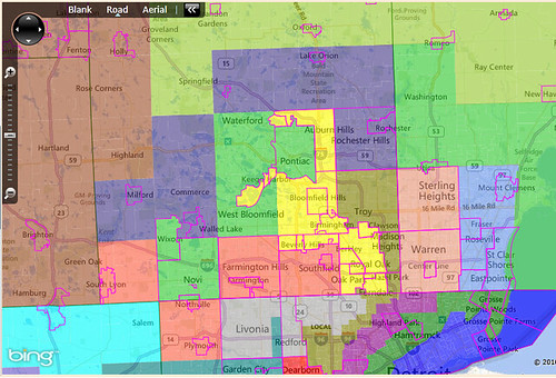 A strong realistic democratic gerrymander of the michigan state oakland county alternate way freerunsca Image collections