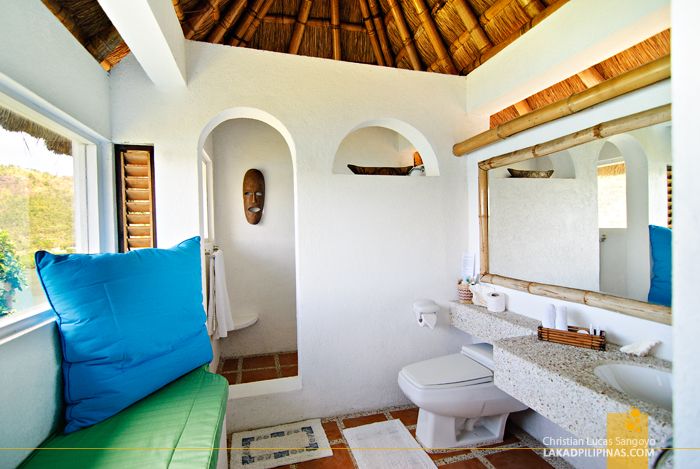 Spacious Toilet and Bath at Puerto Del Sol Resort in Palawan