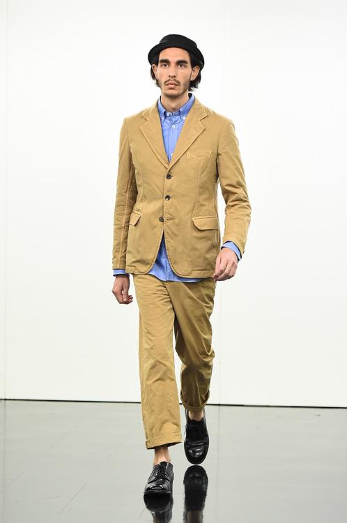SS15 Tokyo COMME des GARCONS HOMME011(Fashion Press)