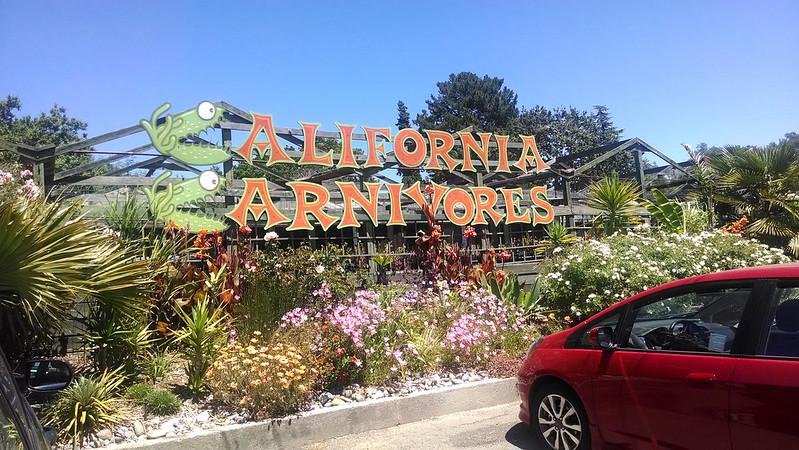 California Carnivores sign.