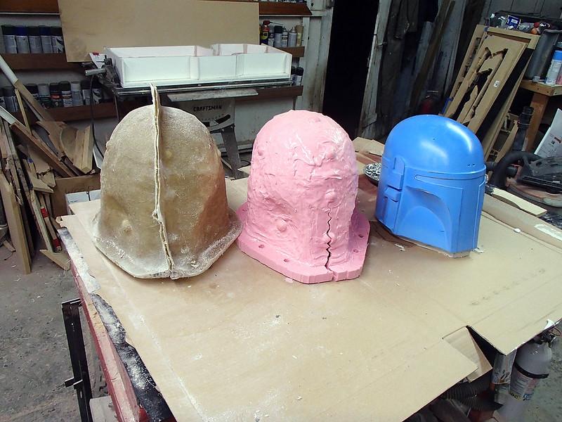 DW Helmet Mold Complete