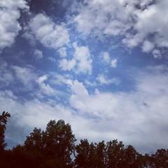 #sky #clouds #trees #nature #appreciatenature #summertime #photo #photography