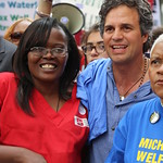 Historic rally in Detroit — 3,000, led by RNs and community leaders 'Turn on the water.'