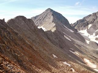 Gladstone Peak From Below Wilson Peak