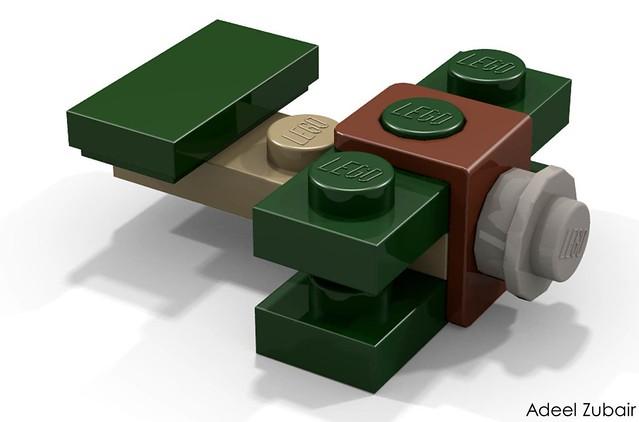 LEGO Minifigure Scale Lego Set - Sopwith Camel (10226)