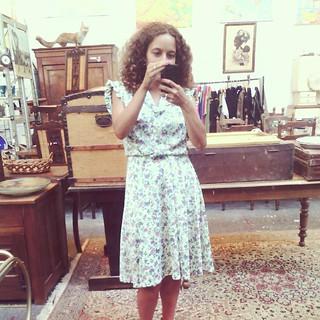 Un petit selfie et une nouvelle robe trouver chez @micmacboutique à #paimpol