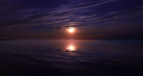 Ambiance lever de lune