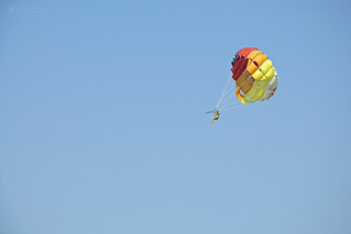 Skydiving: Lonely Parachute