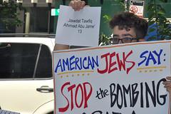 American Jews protest civilian deaths in Gaza