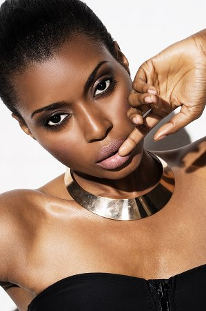 Ghanaian model Roselyn Ashkar