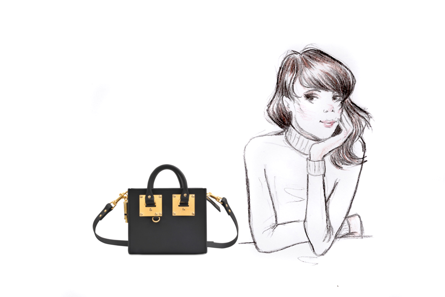 Monnier Frères designer bags autumn winter style illustration drawing blogger Ricarda Schernus Berlin CATS & DOGS 4