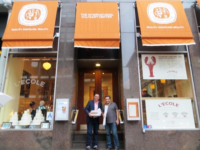 Víctor Santa María y Gustavo Álvarez visitaron importantes instituciones educativas en Nueva York