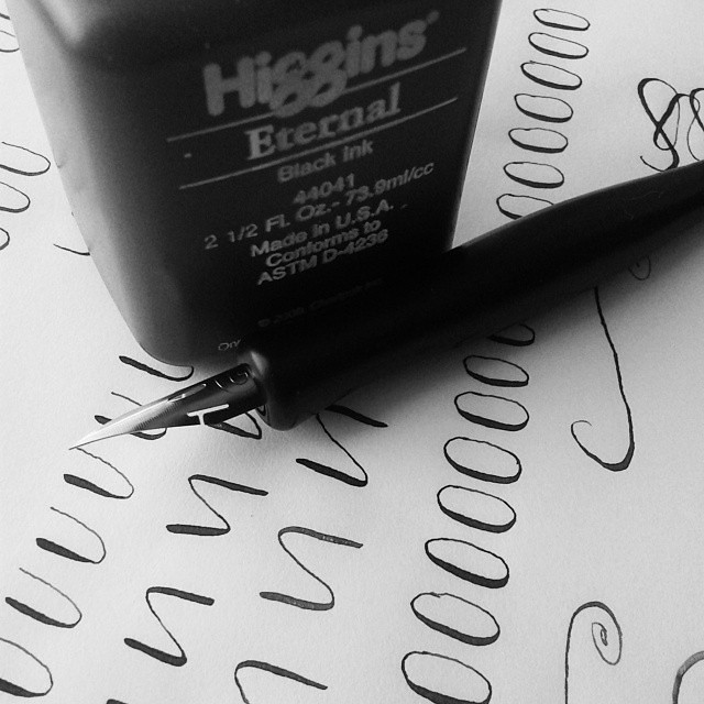 It's time to learn a new skill #calligraphy