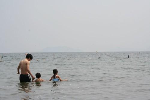 琵琶湖 湖水浴 2014