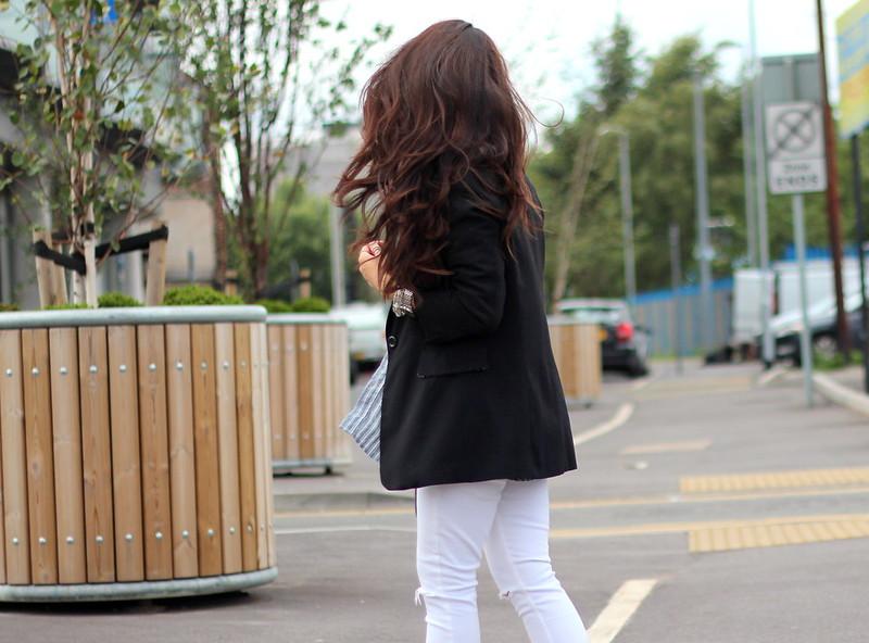 Article 21 Uk Fashion & Style Blog, Matalan Men's Striped Shirt, Matalan Menswear, How to wear Menswear, Topshop White Ripped Jamie Jeans, Matalan Shirts, uk fashion blogger, top uk blogs, best uk fashion blogs, british fashion blogs, uk chinese blogger, manchester fashion blogger