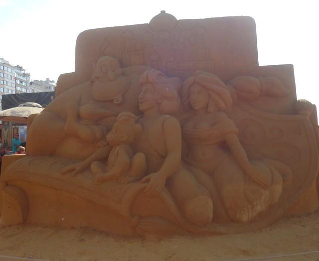Sculpures sur sable Disney - News Touquet p.1 ! 14770258899_fb5af5c89a_z