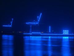 Blue Port 2014 - Harbor near Cruise Terminal, Hamburg, Germany