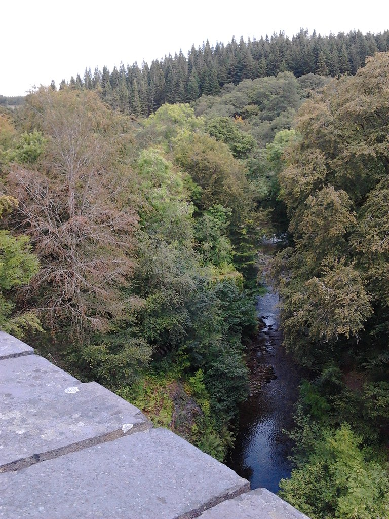 river view from the viaduct