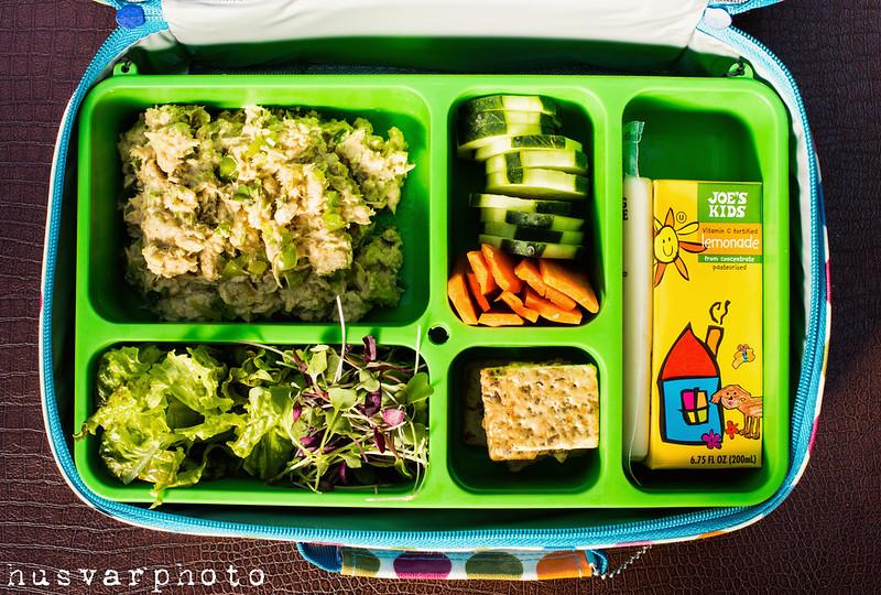 tuna salad school lunchbox in_the_know_mom #BumbleBeeB2S