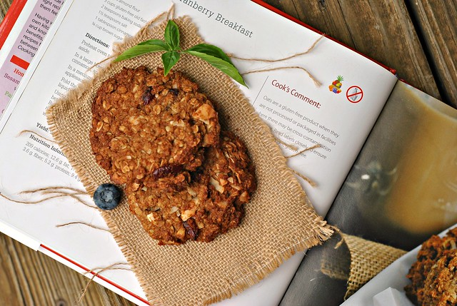 Coconut-Oat Cranberry Breakfast Cookies 1