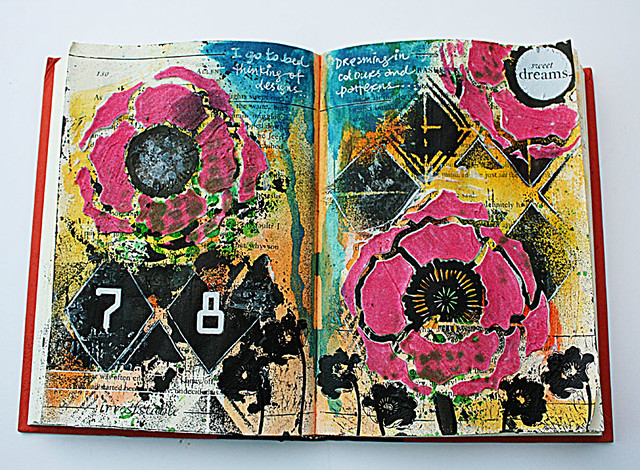 Sweet-dreams-art-journal-page