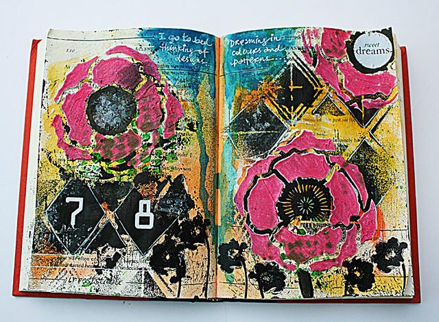 Sweet-dreams-art-journal-page