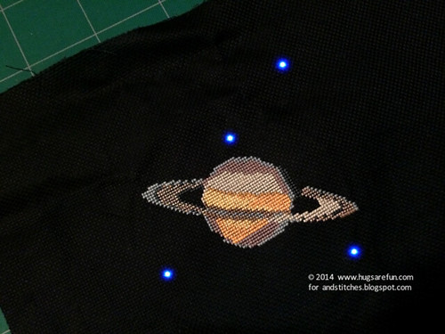 LED Embroidery with Rebecca from Hugs Are Fun
