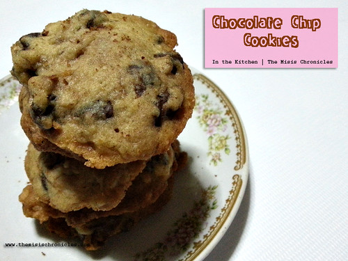 In the Kitchen | Chocolate Chip Cookie recipe, easy and yummy!