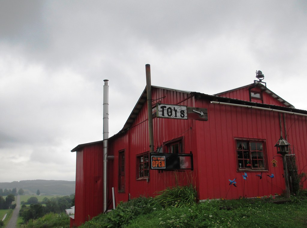 Toy Shop on New York's Amish Trail