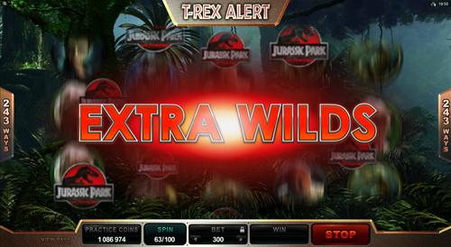 Jurassic Park T-Rex Alert Feature