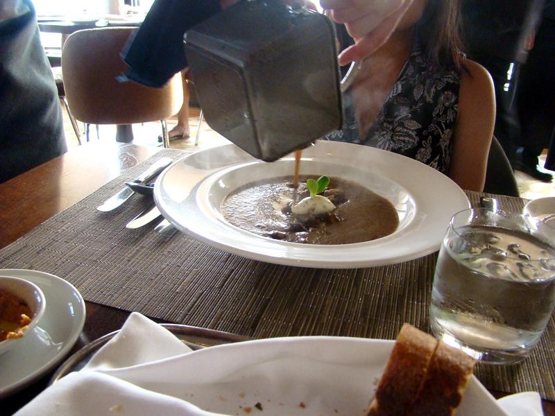 Mushroom Soup Canoe