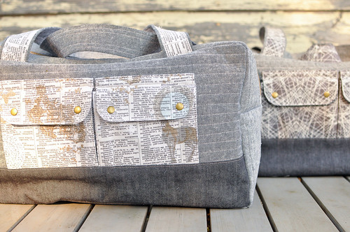 Cargo Duffle Bags for Sandra & Ryan