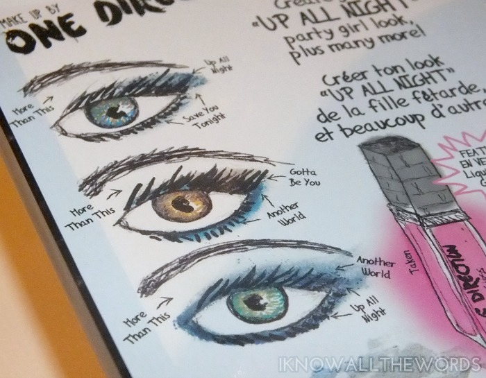 makeup by one direction- Up all Night (13)