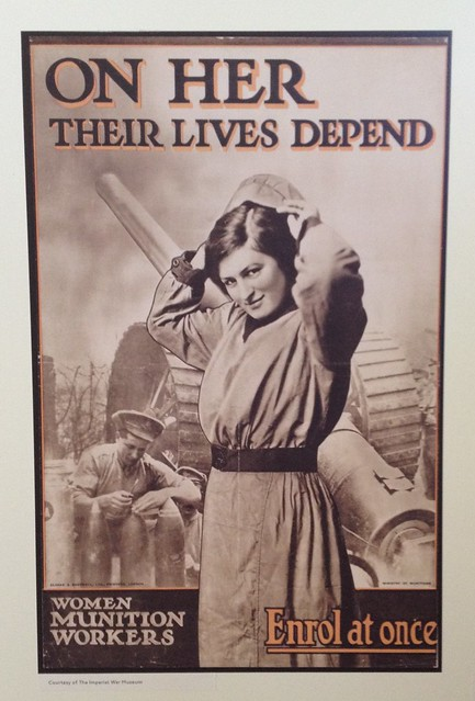 On her their lives depend