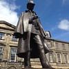#bigartmob #edinburgh #Sherlock Holmes at Arthur Conan Doyles' birthplace