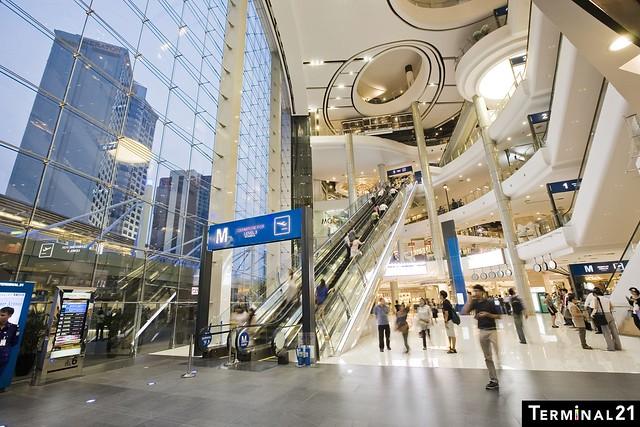 Terminal 21 interior