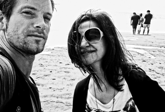 Maite and Stephen, Ocean Beach, San Francisco (2014)