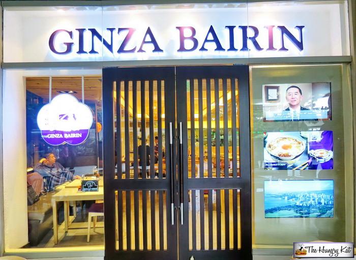 Ginza Bairin Trinoma Ginza Bairin is One of The