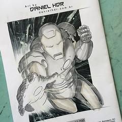 Finished: Iron Man commission #avengers #marvelcomics #comics