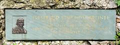 Photo of Isambard Kingdom Brunel and Clifton Suspension Bridge stone plaque