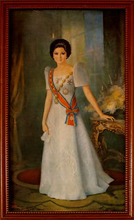 Portrait of Imelda Marcos at Malacañang of the North