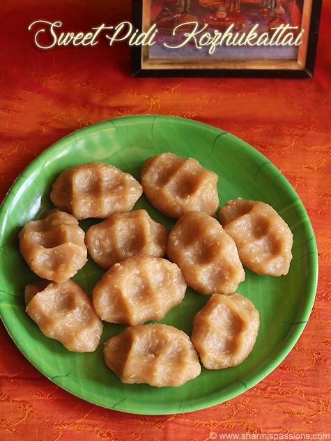 Sweet Pidi Kozhukattai Recipe