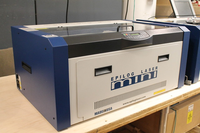 The laser cutter