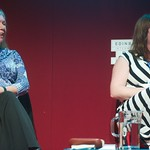 Dilys Rose and Eimear McBride at the Edinburgh International Book Festival |