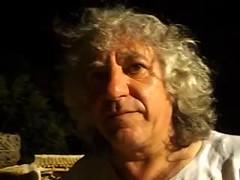 Alfio Antico e i suoi tamburi al Giardino della Kolymbetra di Agrigento
