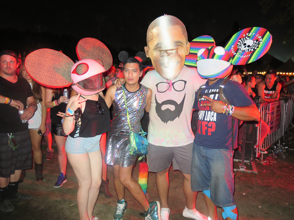 Bryanboy at Electric Zoo 2014 Music Festival Day 2