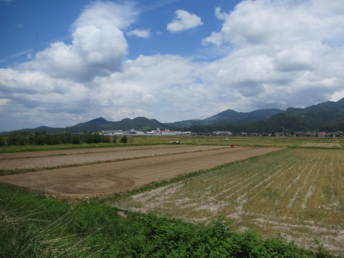 Travelling from Yamagata to Shinjo