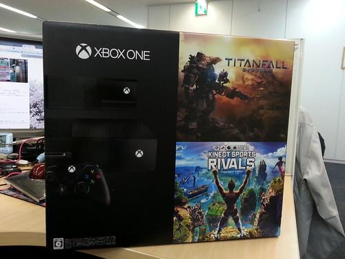 Xbox One買ってきたぜー #xboxone